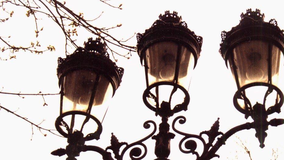 Foto luminaria de rua de Paris