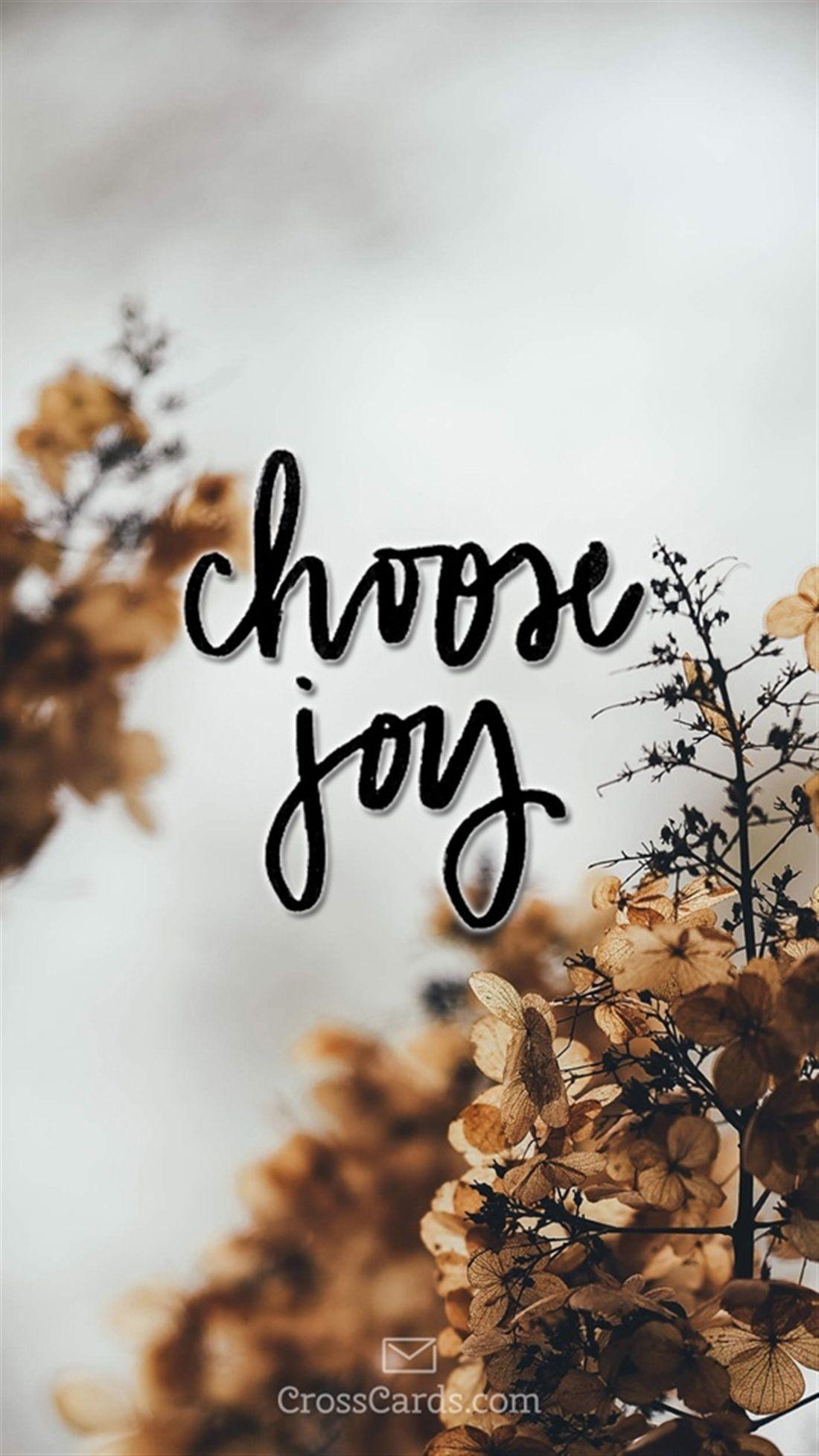 Choose Joy Inspiration Pinterest