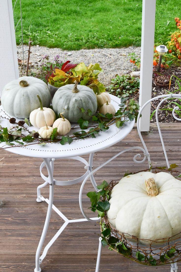 Endlich wieder Kürbisdeko ... der Herbst ist da! #herbstdekoeingangsbereich