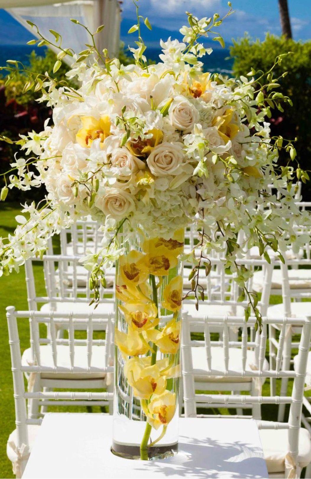 Yellow Orchids Yellow Inspiration Weddings Pinterest Yellow