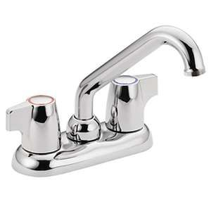 Moen Manor Chrome 2 Handle Laundry Faucet Onlinetool