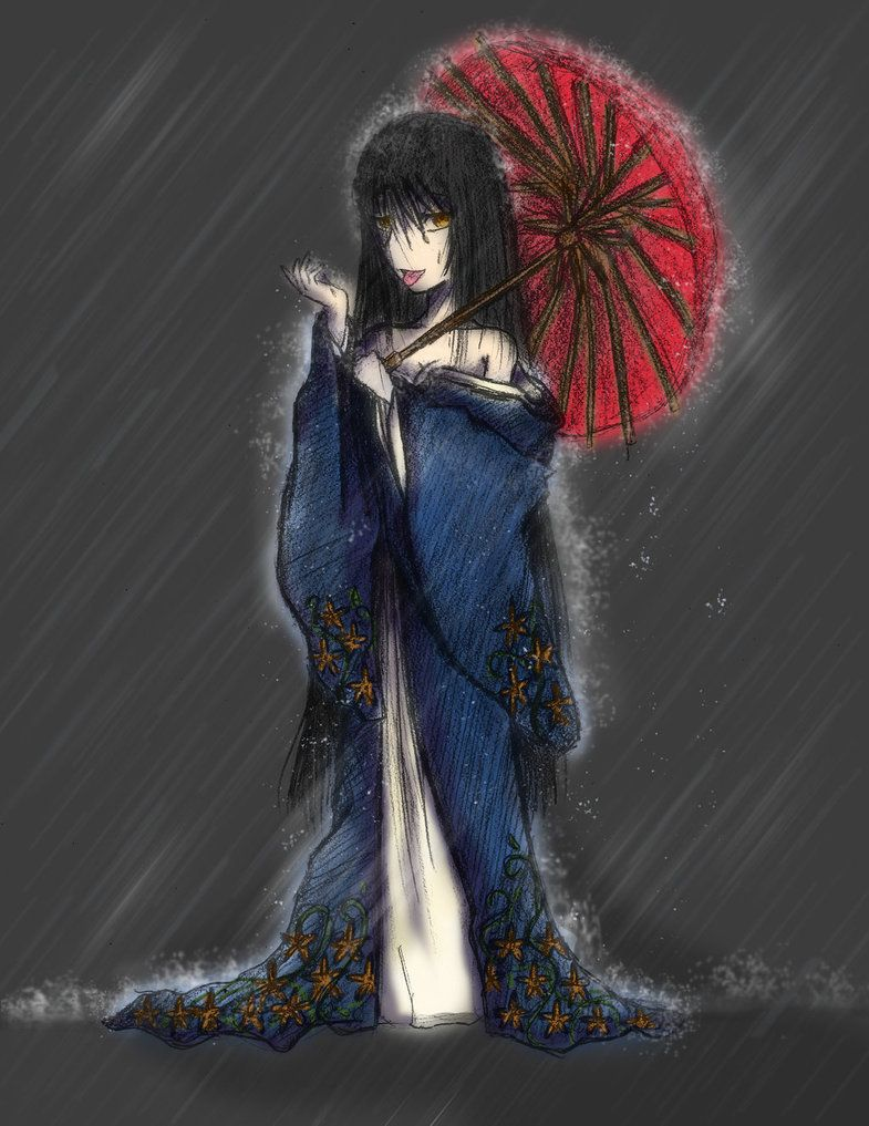 Ame-onna (Undead)(Medium) – The second evolution of the Onryo