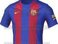 Filtrada la que podría ser la camiseta del Barça 2016-17