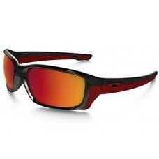 ab541231121 Oakley Straightlink sunglasses Polished Black frame   Torch Iridium  Polarized lens