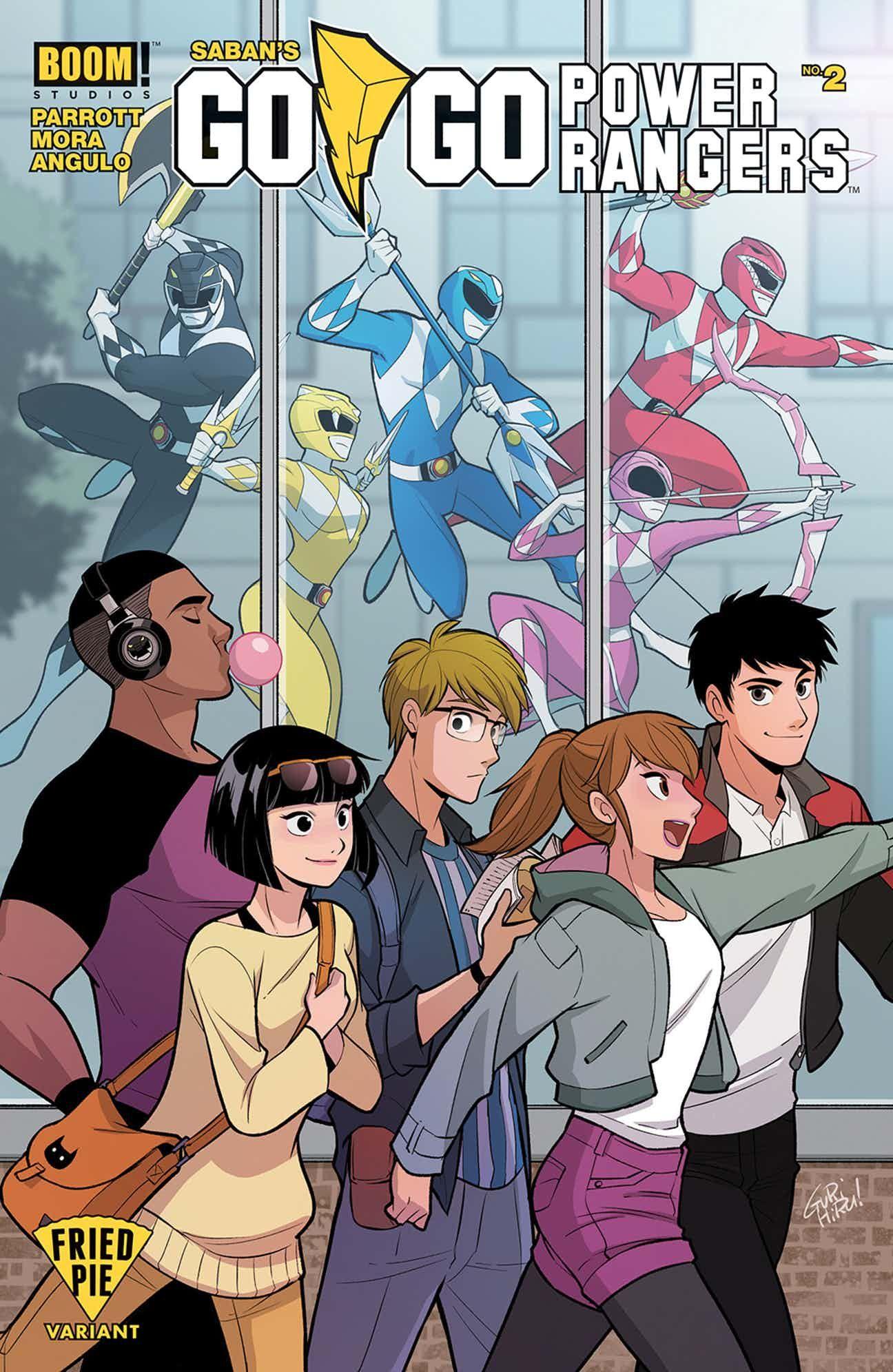 Go Go Power Rangers 2 Variant Diseno De Personajes Personajes