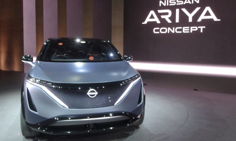 Nissan Looks Set To Debut Its Ariya Ev In July In 2020 Nissan Tokyo Motor Show Debut