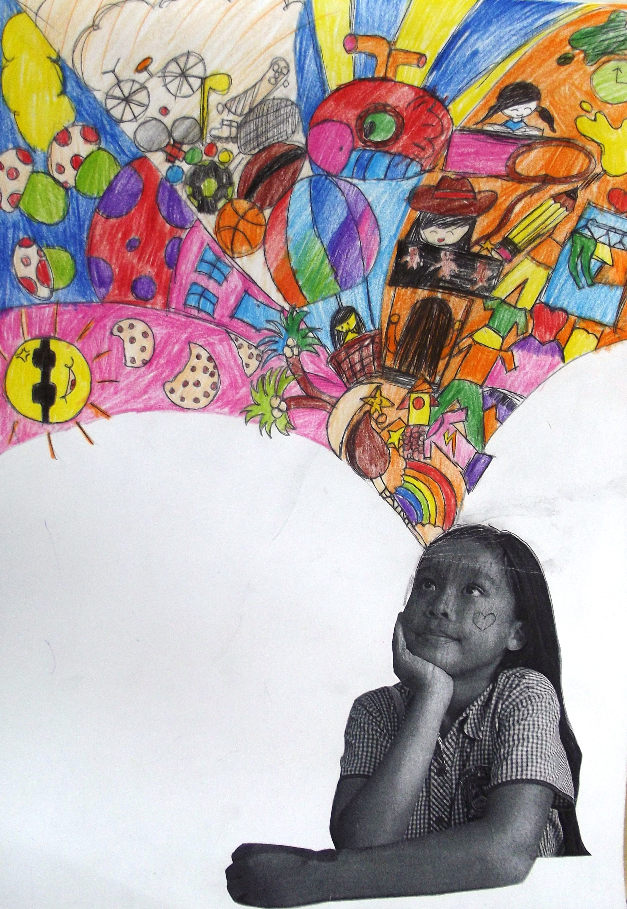 Year 5 Imagination Project Inspired By Portraits On