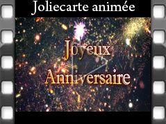 jolie carte anniversaire animée musicale Carte anniversaire GRATUITE   Joliecarte.| Carte anniversaire