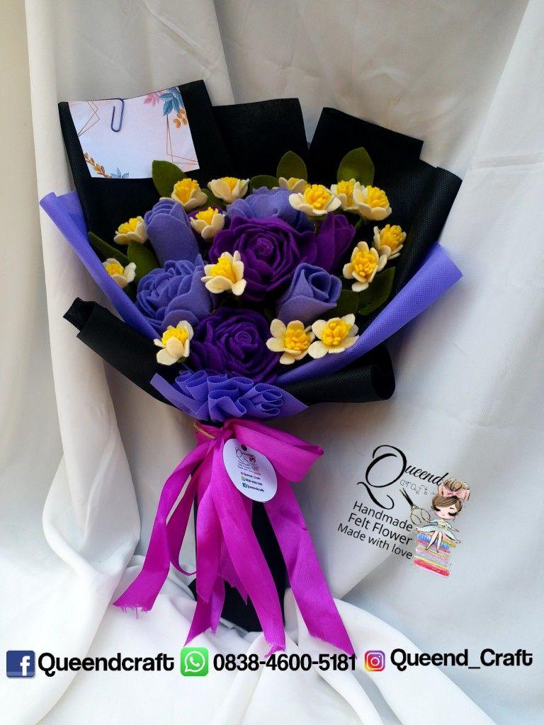 Pin Di Buket Bunga