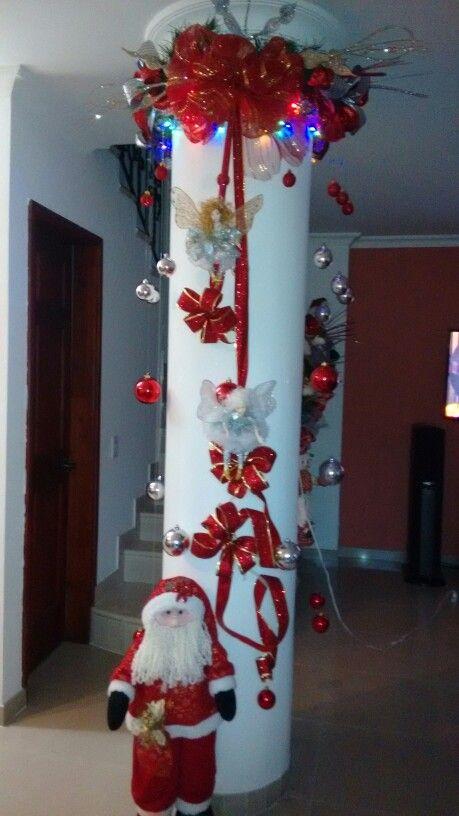 Pin De Mona Mnm En Christmas Decoracion Navidad Reciclado