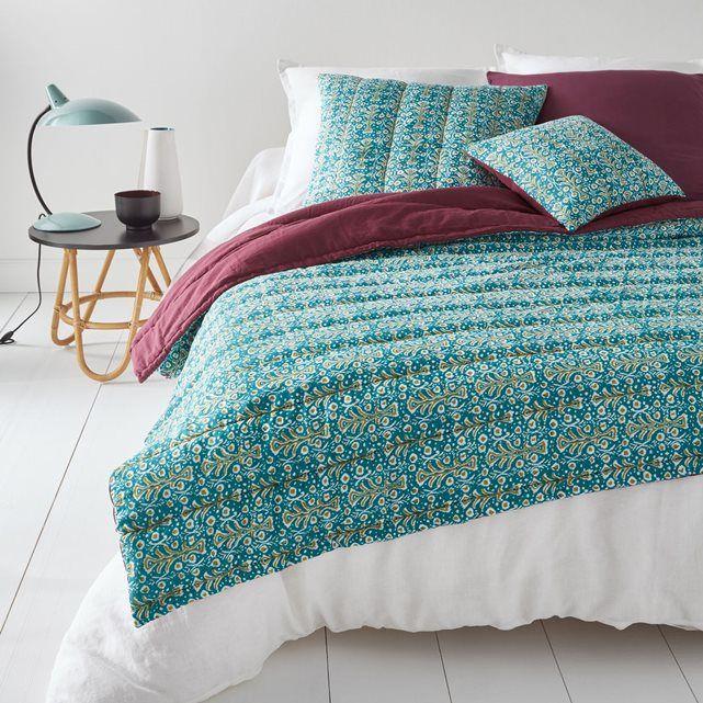 couvre lit matelass voile de coton japur la redoute interieurs - Couvre Lit La Redoute