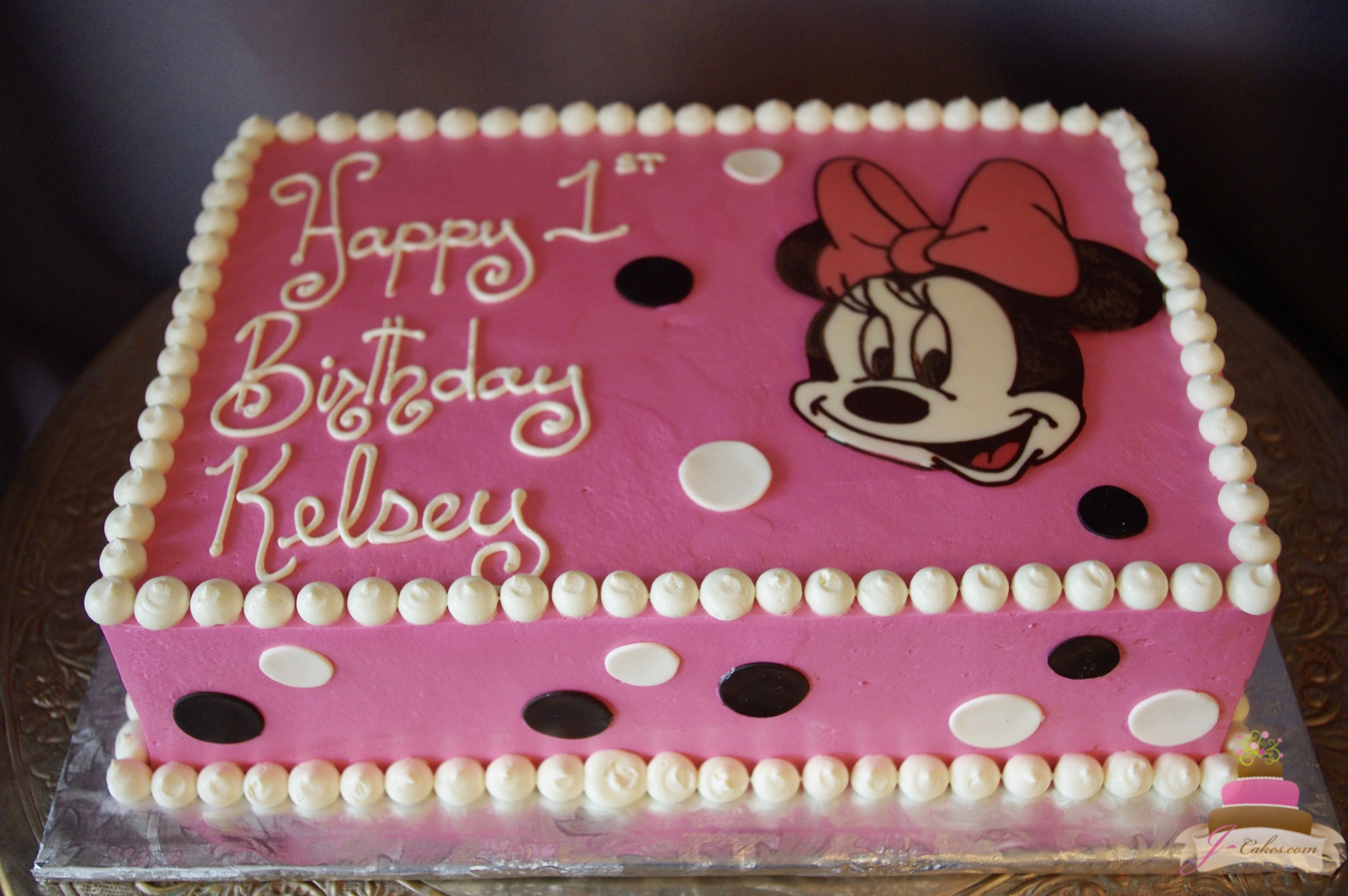 497 Minnie Mouse Sheet Cake Kids Cakes Pinterest Minnie