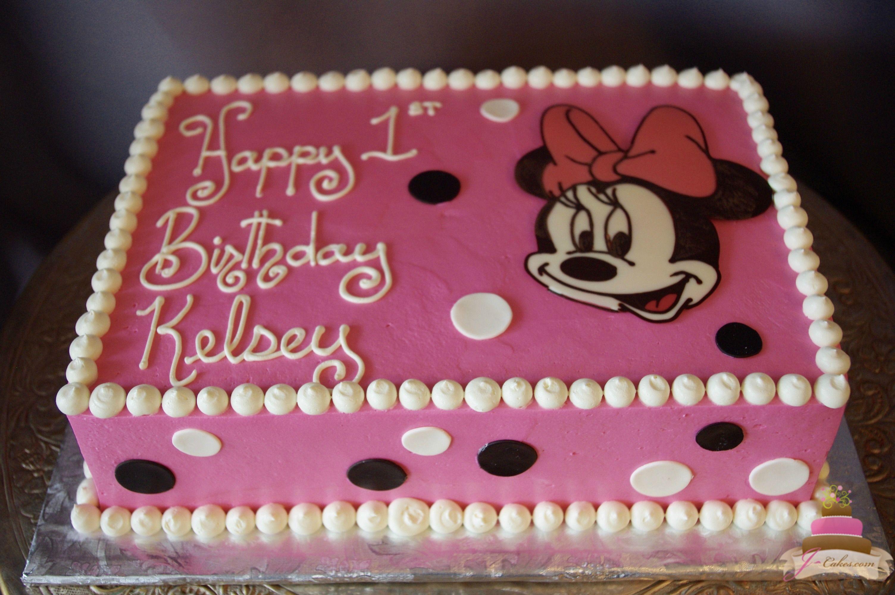 497 Minnie Mouse Sheet Cake Kids Cakes Pinterest Minnie