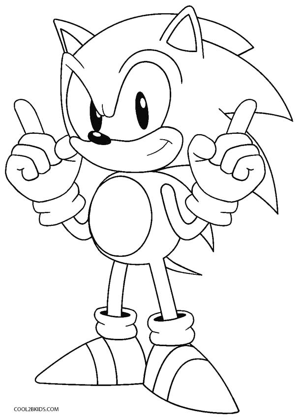 Printable Sonic Coloring Pages For Kids Cool2bkids Coloring Monster Coloring Pages Hedgehog Colors Cartoon Coloring Pages