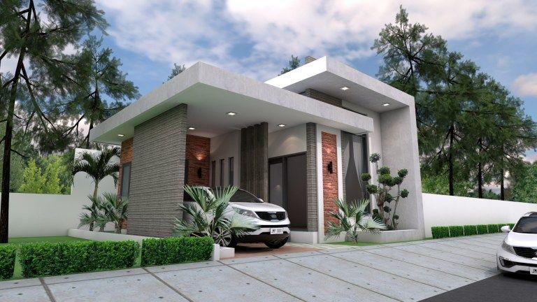 Splendid Single Storey House Plan Denah Rumah Desain Rumah Modern Rumah
