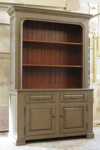 Image detail for -doors-2 drawers-hutch-2 tone paint finish ...