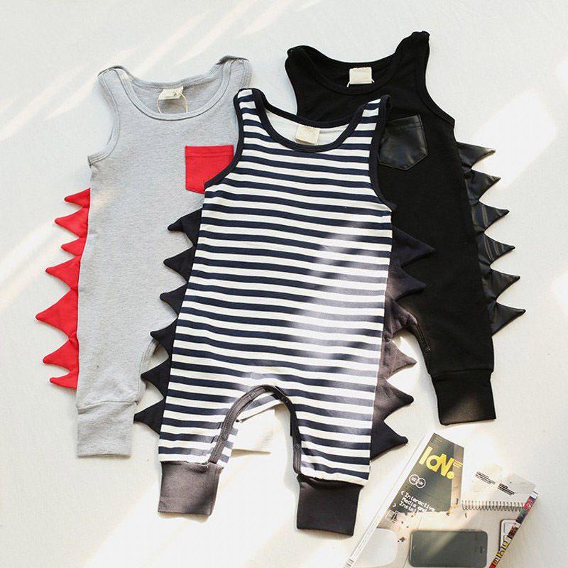 877e88dce2d Newborn Toddler Baby Boys Cotton Romper Jumpsuit Playsuit Outfit Clothes  Children New Arrival Boy Summer Rompers