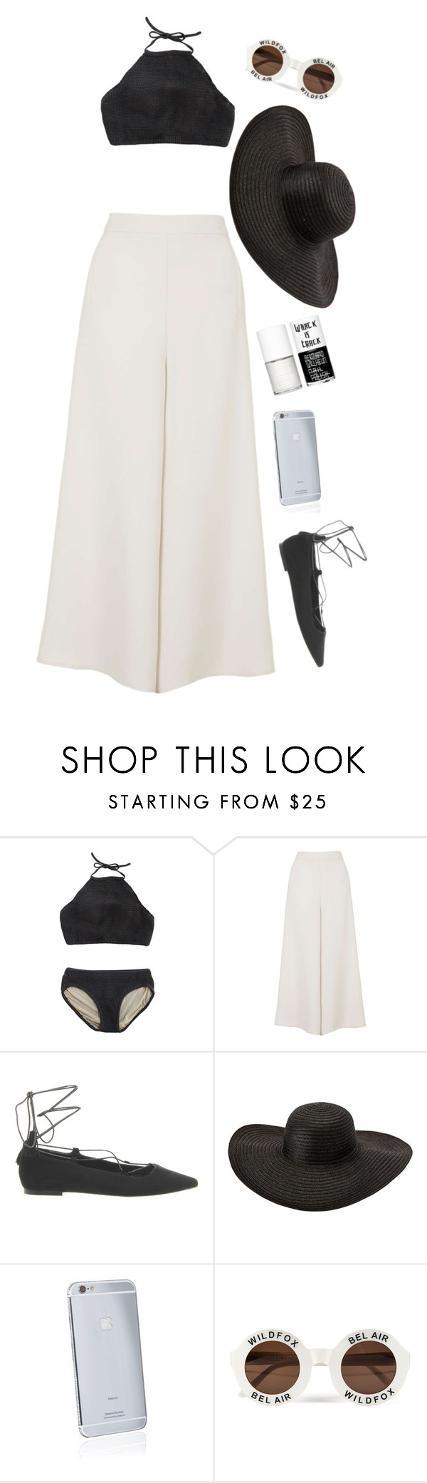 """Vacation"" by comiz ❤ liked on Polyvore featuring Topshop, Office, Goldgenie, Wildfox and Uslu Airlines"