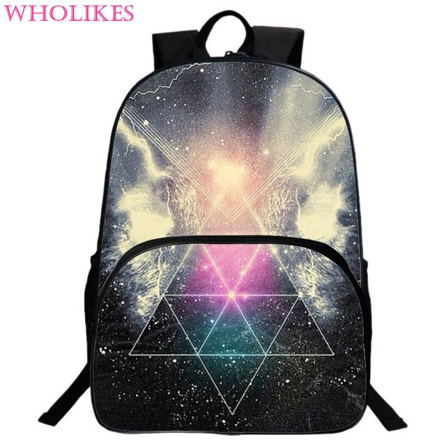 Special offer Hot 2016 Fashion Girls Multicolor  Oxford cloth Backpack Stylish Galaxy Star Universe Space Backpack Girls School Backbag just only $23.76 with free shipping worldwide  #backpacksformen Plese click on picture to see our special price for you
