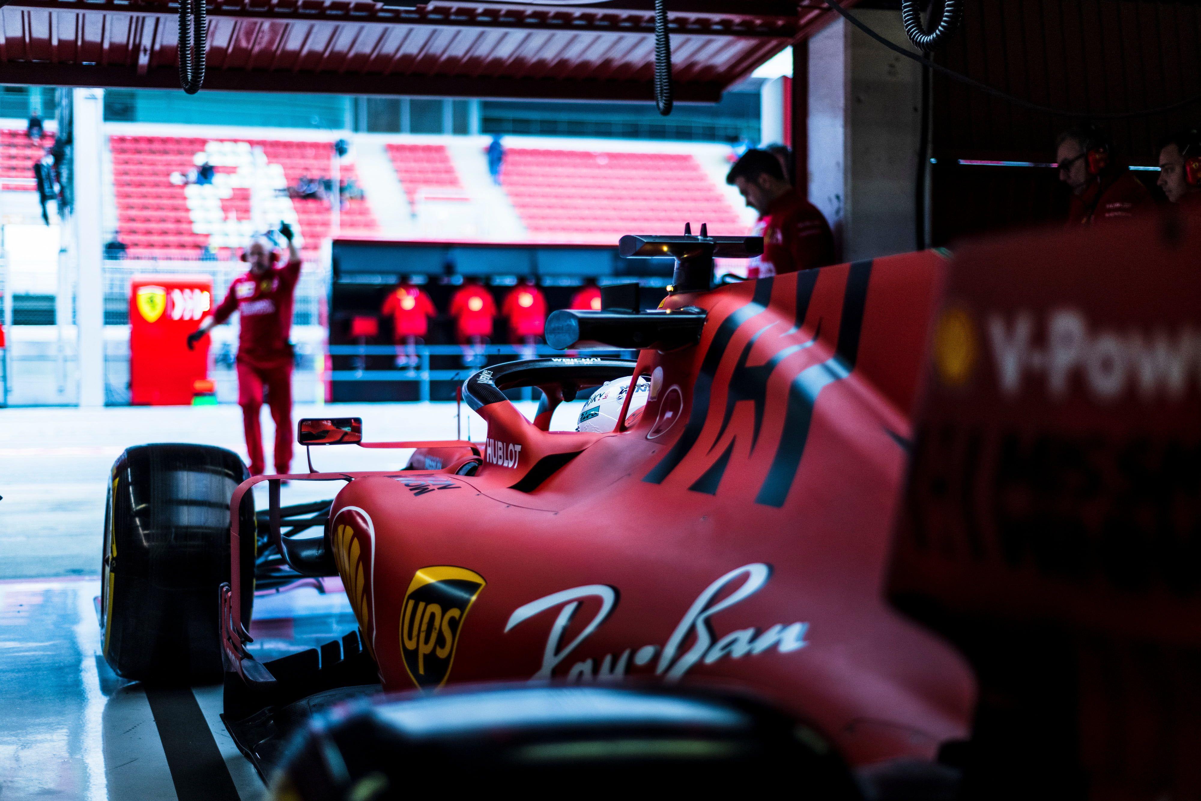 Ferrari Formula 1 Sebastian Vettel 2019 4k Wallpaper Hdwallpaper Desktop In 2020 Formula 1 Ferrari Ferrari F1