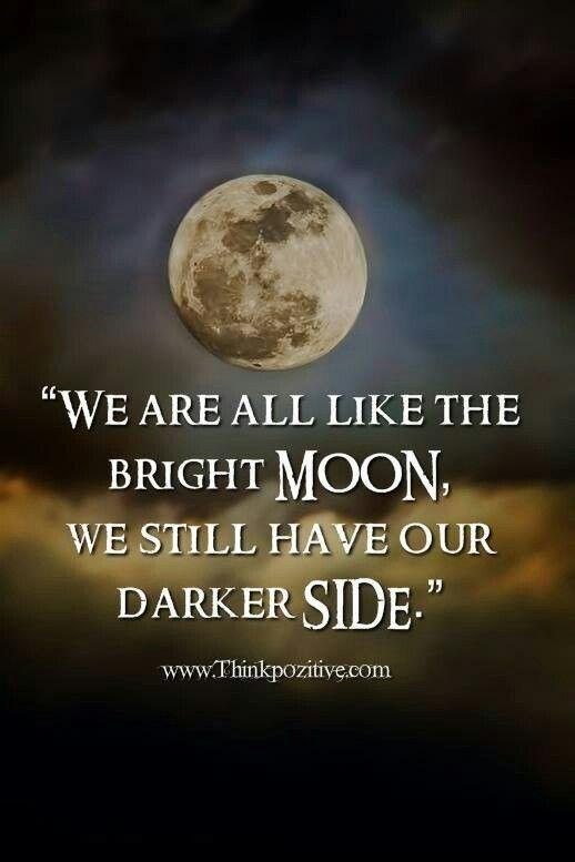 seperti siang dan malam sama seperti bulan setiap manusia