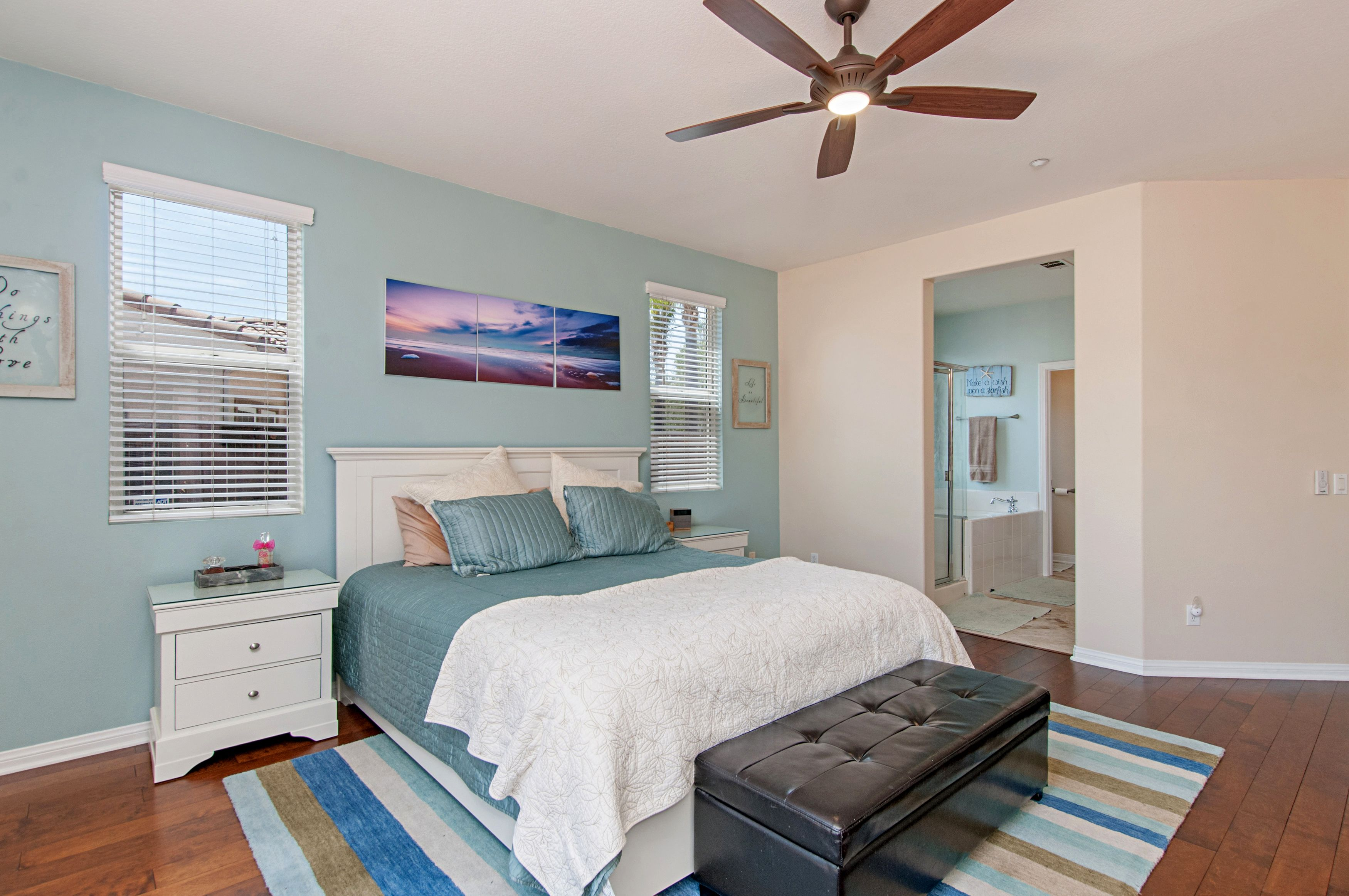 coastal Master Bedroom Beach House Colors Benjamin