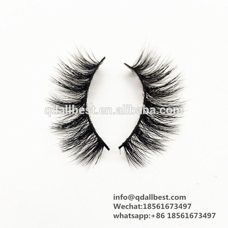 High Quality Private Label 3D Mink Fur False Eyelash