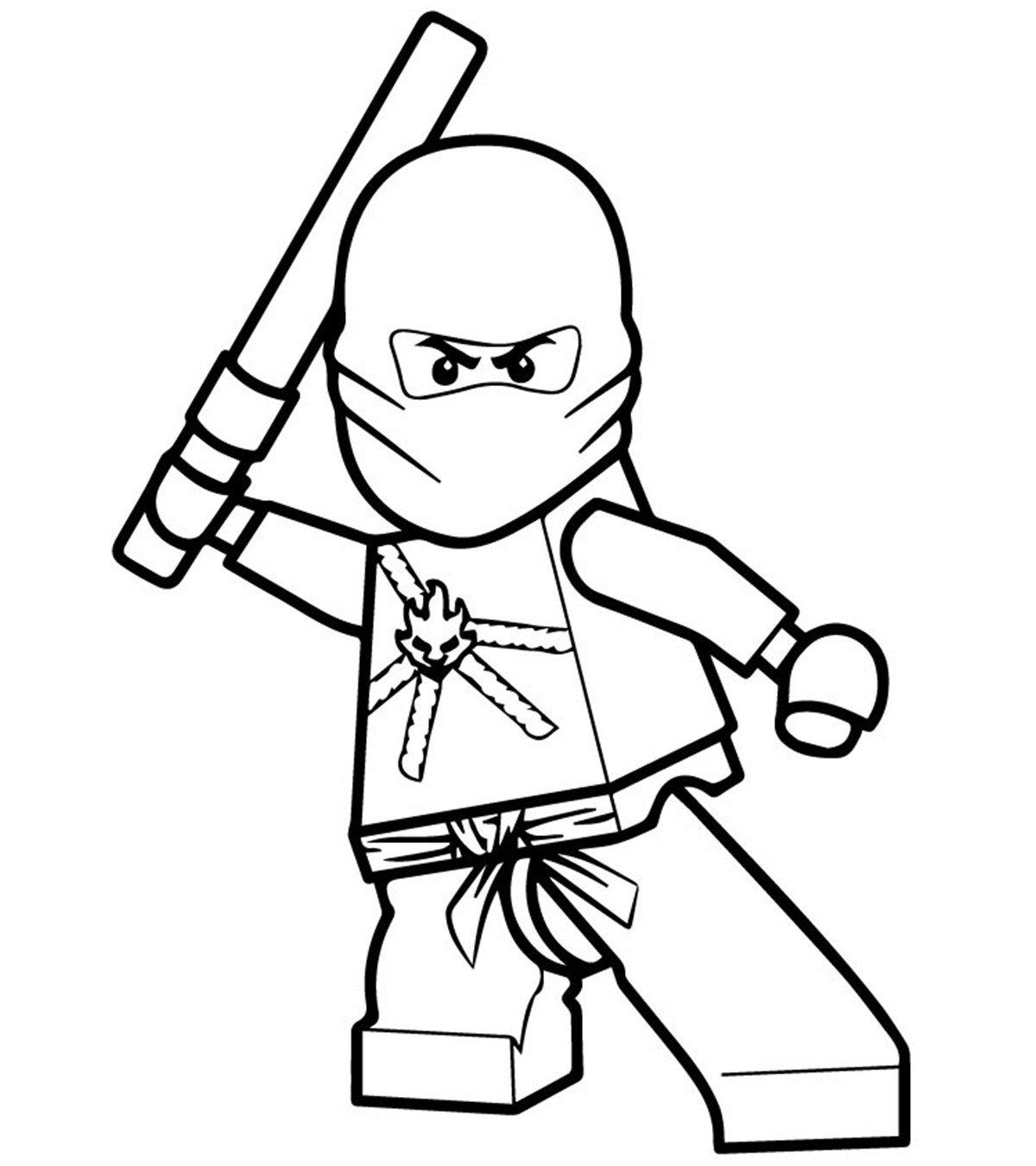 Lego Ninjago Coloring Pages Luxury top 40 Free Printable