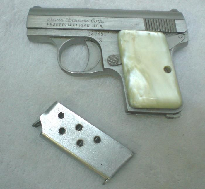25 caliber pistol for sale for sale bauer f a corp