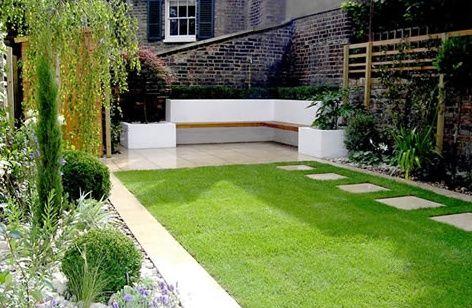 onderhoudsvriendelijke tuin ontwerpen tuin pinterest