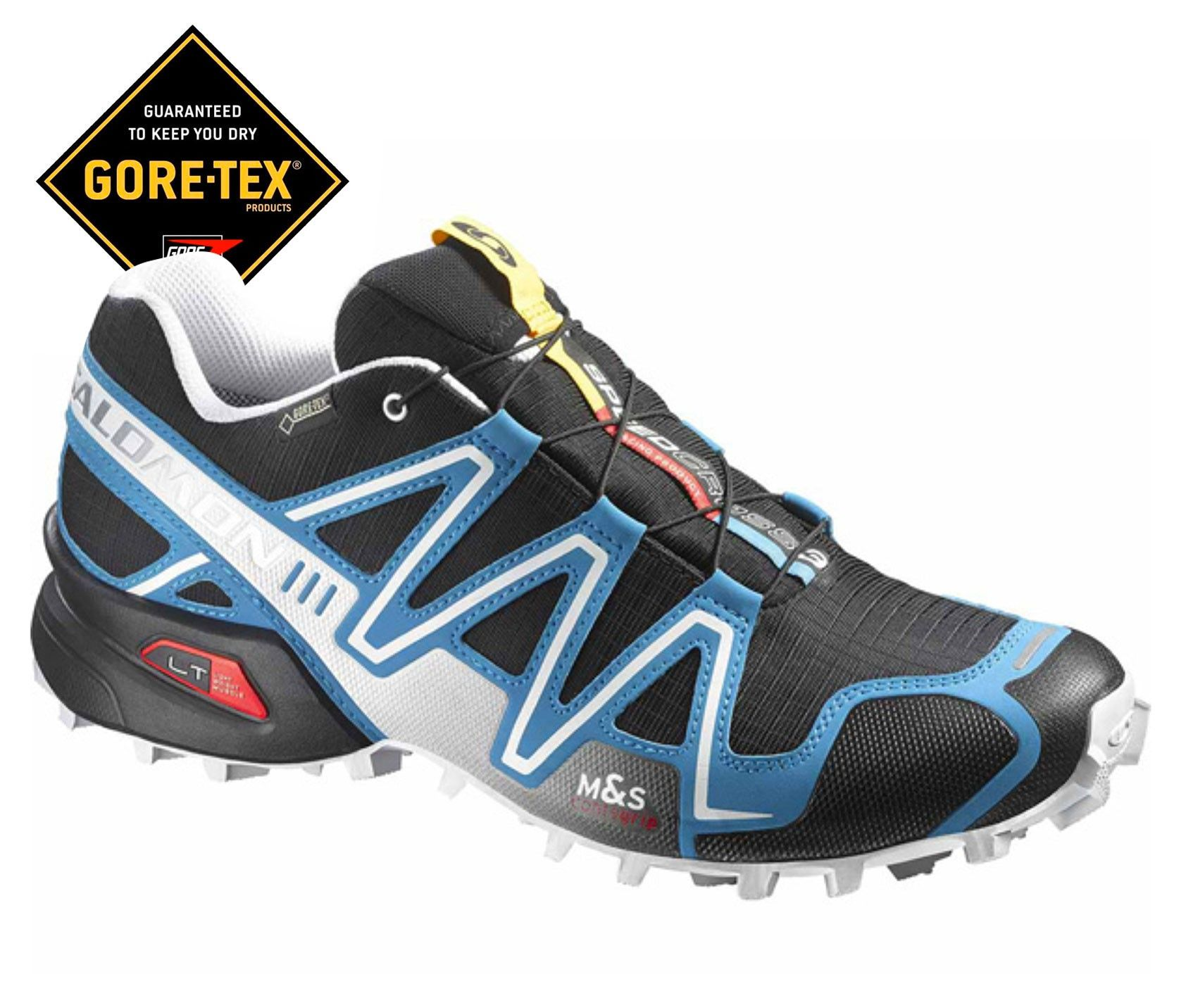 Zapatos negros Salomon Trail para hombre RozTHWe