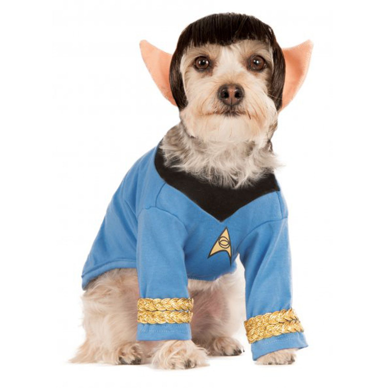 Travel To A World Beyond With The Star Trek Dog Costume With Spock