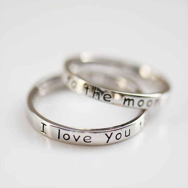 you are my sunshine Stainless Steel Ring 4 mm Hand Stamped ring Hypoallergenic comfort fit band