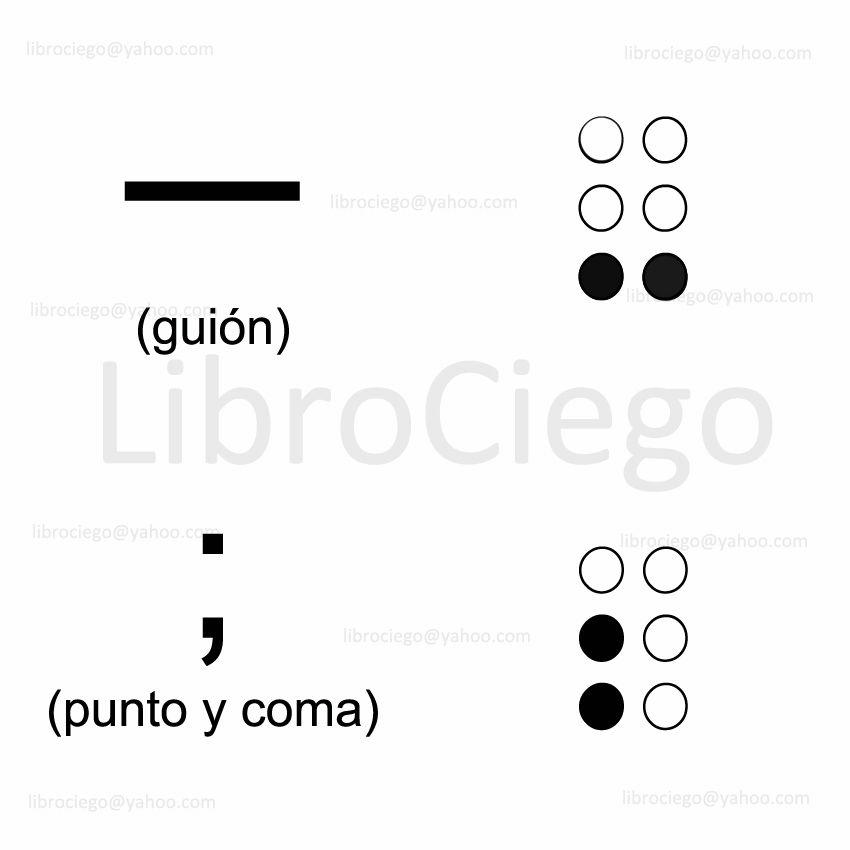 Guión Bajo Punto Y Coma Spanish