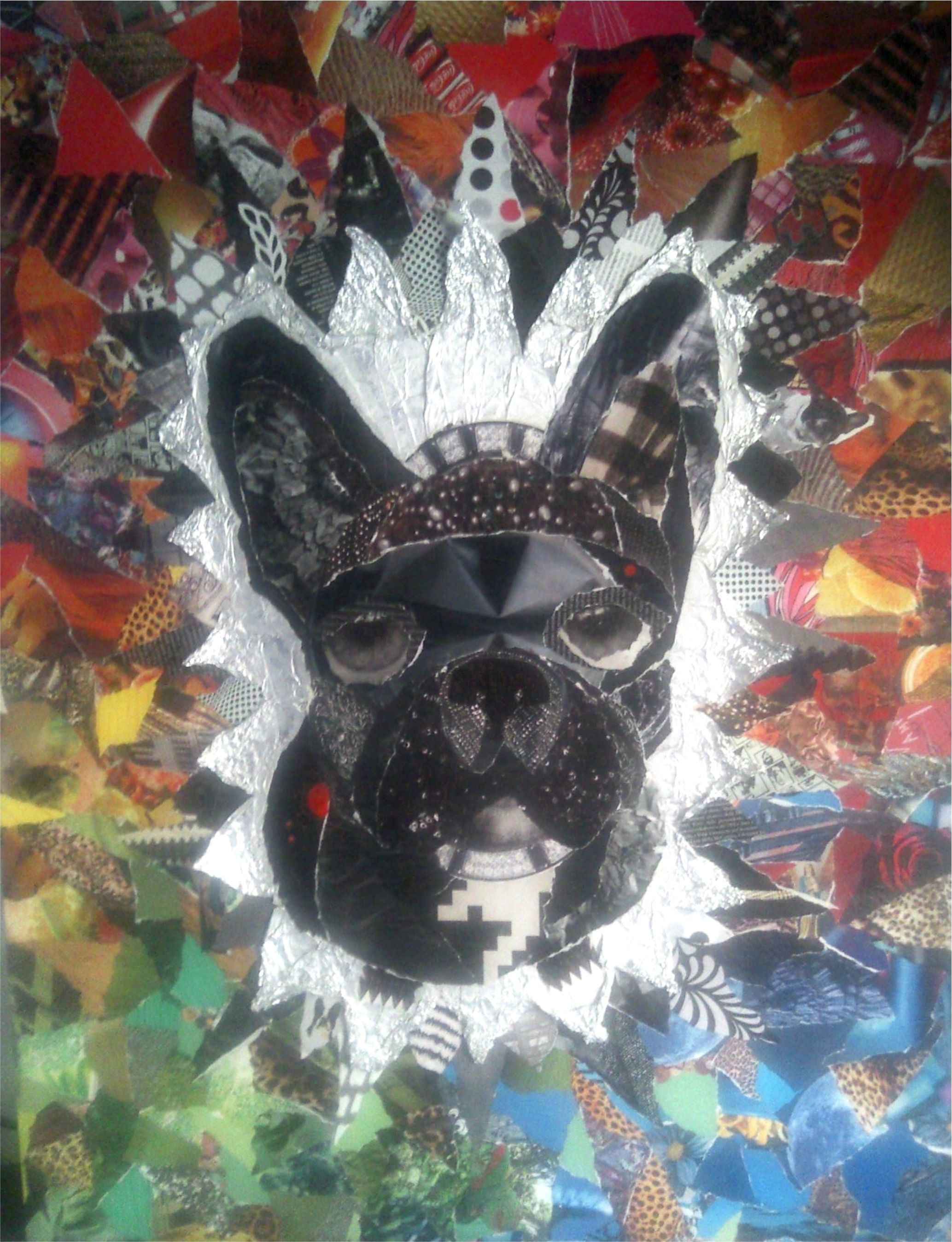 Toto collage | Collage/Mixed Media | Pinterest | Collage, Paintings ...