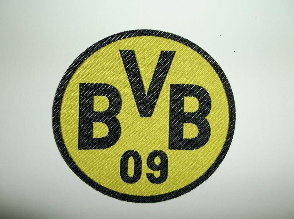 Borussia Dortmund Bvb 09 Patch Woven Germany Bundesliga Football Soccer 2 5 8 Unbranded Borussia Dortmund Dortmund Patches