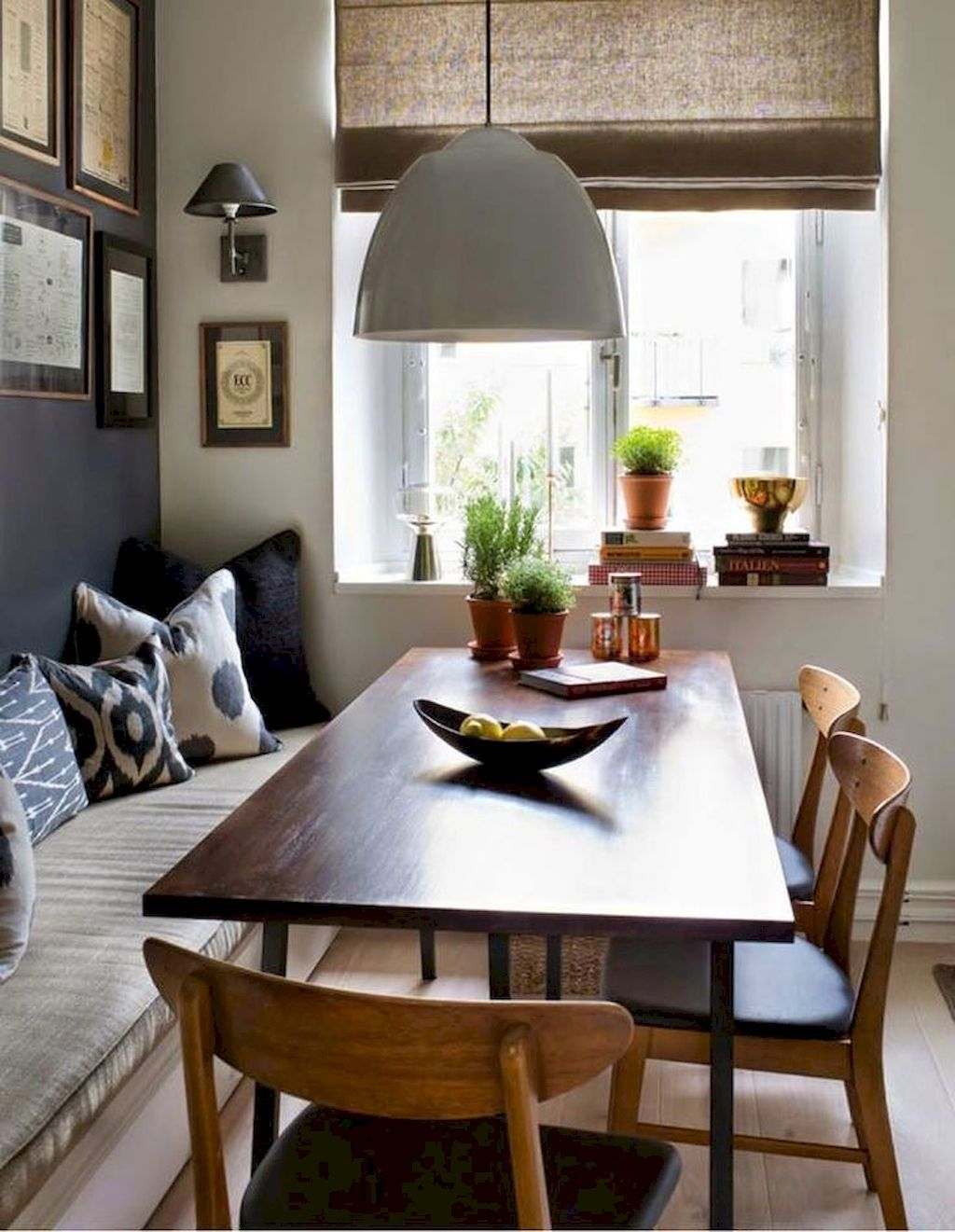 Kitchen table benches  Nice  Modern Farmhouse Dining Table Decor Ideas decor dining