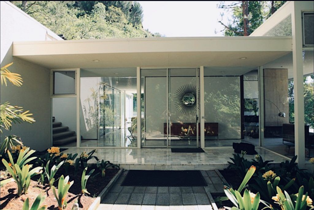 A Midcentury Home Nestled Within Beverly Hills Lush Greenery