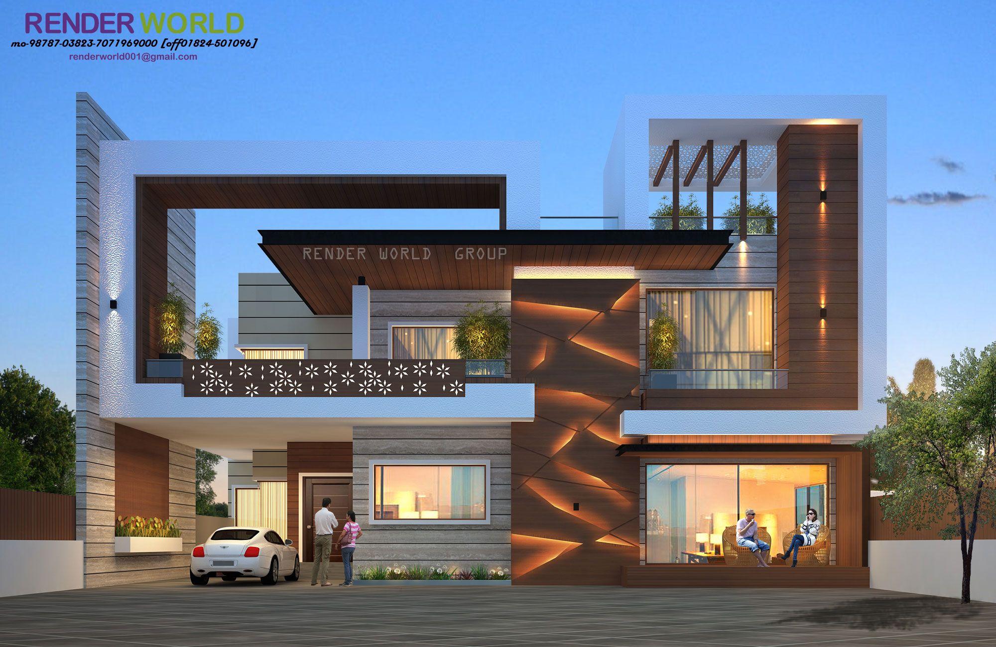 Modern Exterior Design Of Bungalow Trendecors