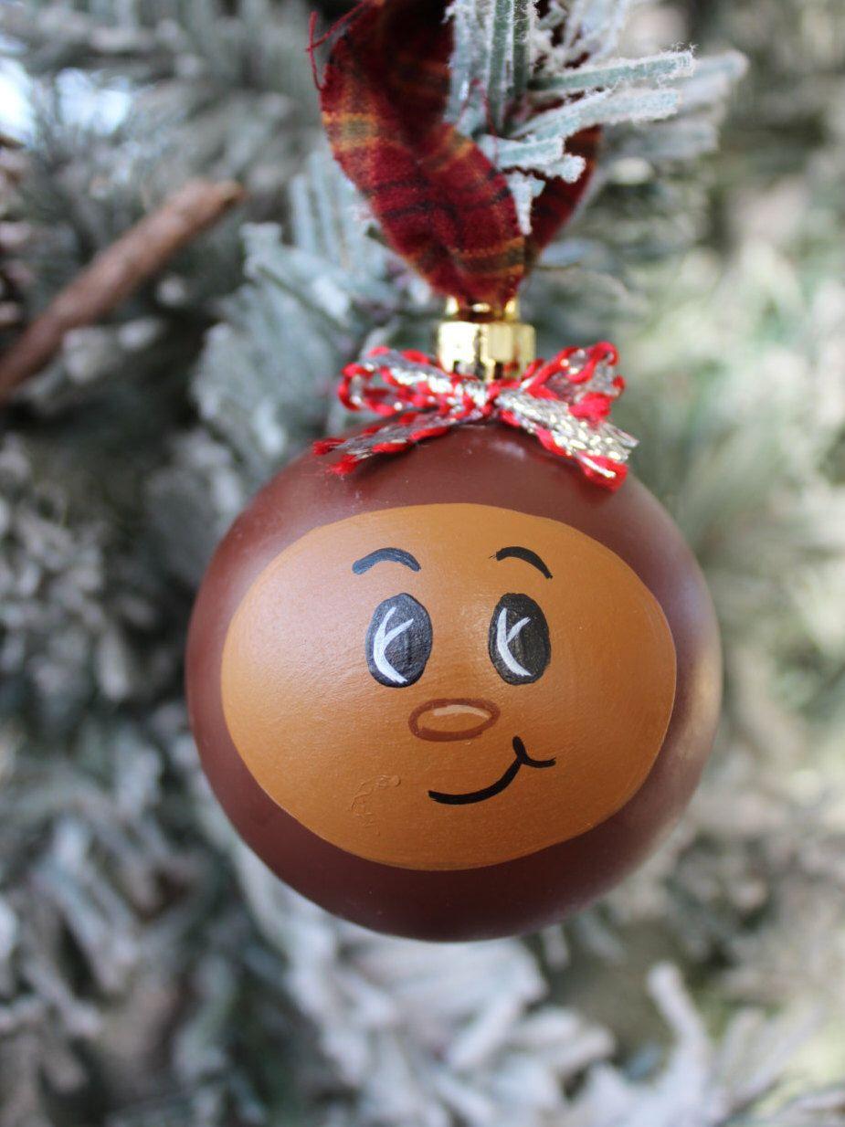 Ohio State Buckeye Christmas Ornament, Ohio State Football, Christmas Tree Bulb, Sports, OSU, Christmas ornament #ohiostatebuckeyes