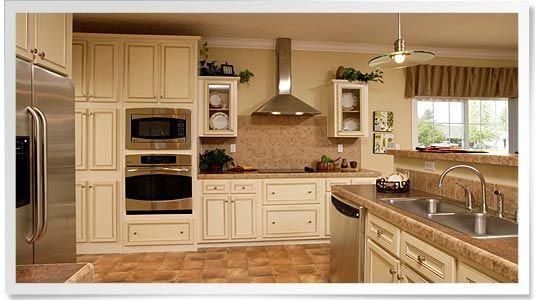 Your dream kitchen, complete with ceramic wall accents, a ...