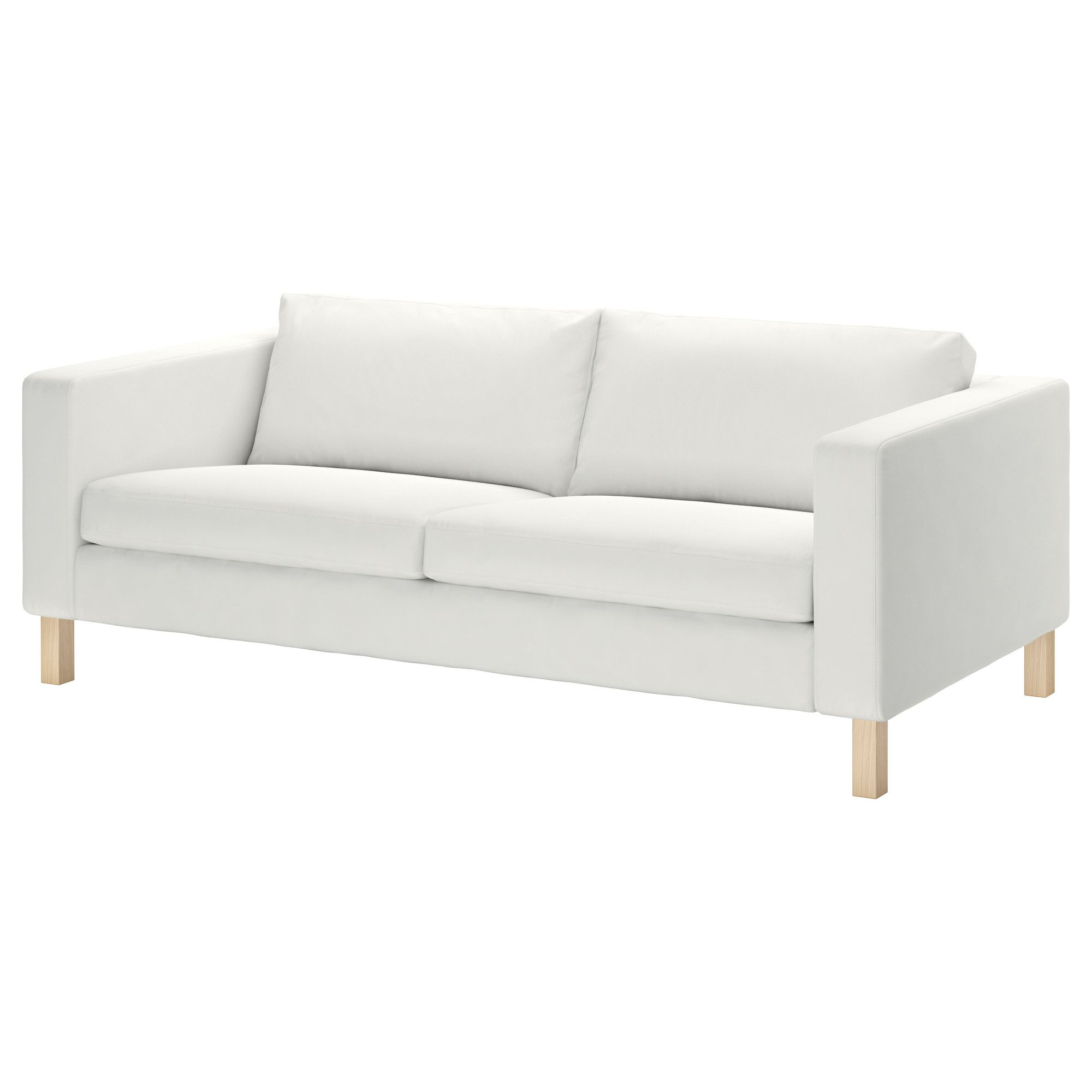 ikea karlstad sofa blekinge white 399 this would work for our living room i would want to dye the cover red aqua or royal blue possibly - Ikea Karlstad Sofa
