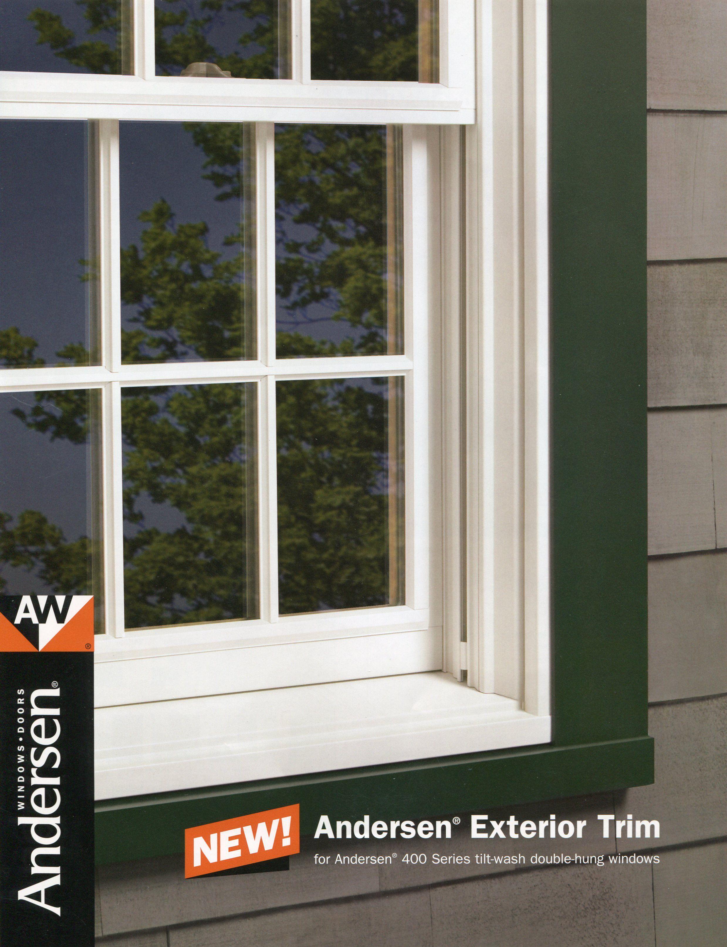 Anderson 400 Series Windows Anderson Windows Exterior Trim