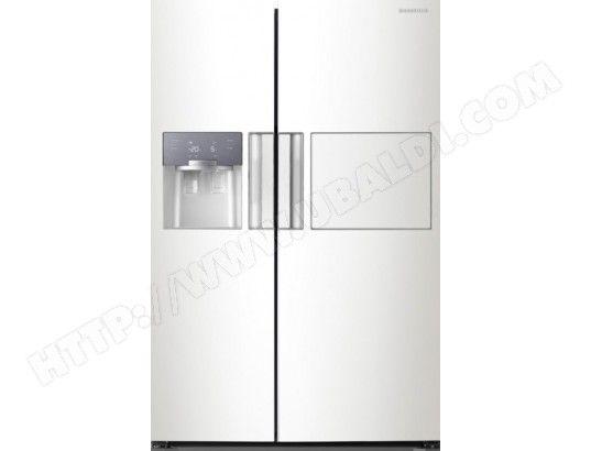 1075 Frigo Americain Blanc Samsung Refrigerateur Americain Frigo Americain Blanc Frigo Americain