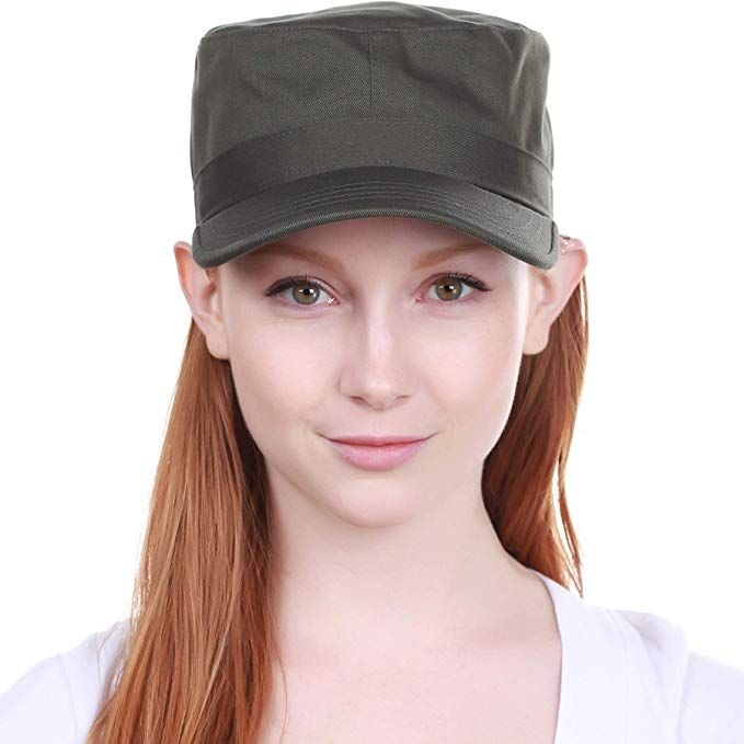 73482b969d4  2.99 -  9.99 Cadet Army Cap Basic Everyday Military Style Hat (Now with  STASH Pocket Version Available)