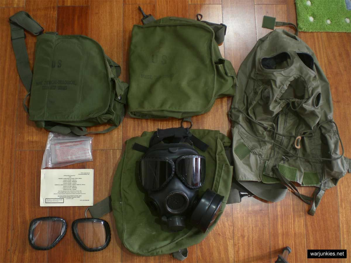 M40 Gas Mask Genuine Issue Chemical-biological