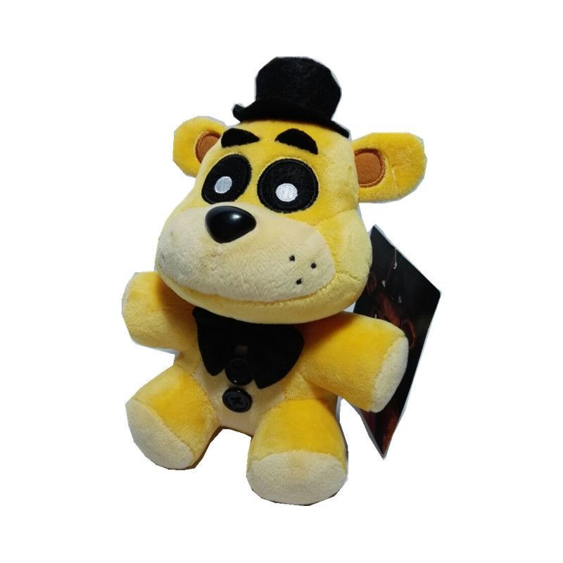 Gold Freddy Toys : Plush doll golden freddy five nights at s fnaf toy