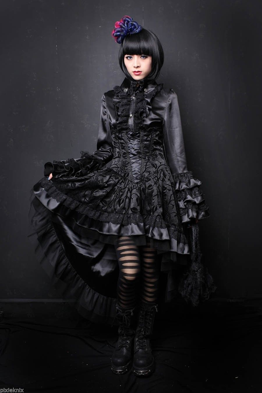Fashion week High gothic fashion for lady