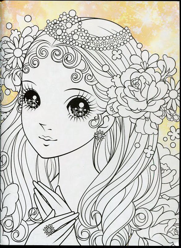 Princess Coloring Book 1 - Mama Mia - Picasa Web Albums   dibujos ...