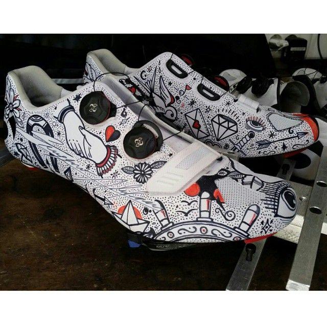 custom cycle shoes